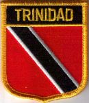 Trinidad & Tobago Embroidered Flag Patch, style 07.